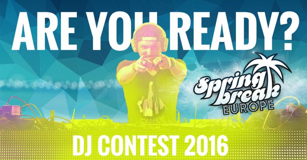 Jetzt beim SPRINGBREAK Europe DJ Contest mitmachen!